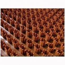Щетинистое покрытие коричневое