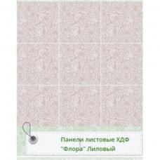 Панель RS Рустованная Флора Лиловый 1220*2440*3мм Матрица