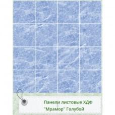 Панель RS Рустованная Мрамор Голубой/Мурена 1220*2440*3мм Матрица