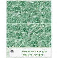 Панель RS Рустованная Мрамор Изумруд 1220*2440*3мм