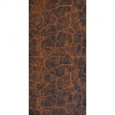 """Камень Бутан"" цвет Темно - коричневый 1220*2440=2,98 м2 Матрица"