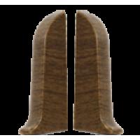Заглушки плинтуса торцевые (пара) Т55п IDEAL Комфорт
