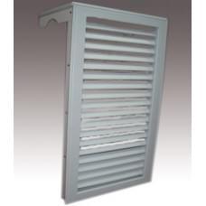 Радиаторная решетка навесная 4 секции 38см