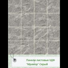 Панель RS Рустованная Мрамор Серый 1220*2440*3мм