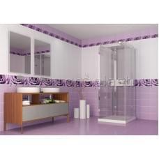 Капли росы фиолетовые панель ПВХ