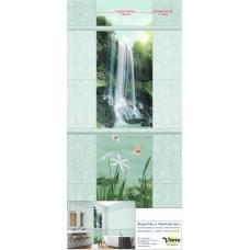 Водопад зеленый мрамор
