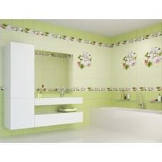 Яблоневый цвет зеленый панель ПВХ декор, фон