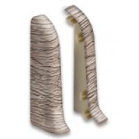 Заглушки плинтуса торцевые (пара) О55-Тп IDEAL Оптима
