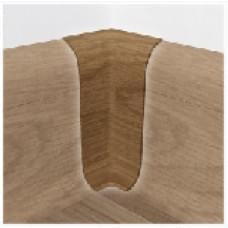 Внутренний угол для плинтуса Tplast (58мм)