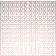Панель потолочная ХДФ Дамаско,  цвет - Белый