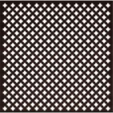 Панель потолочная ХДФ Готико,  цвет - Венге