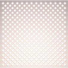 Панель потолочная ХДФ Готико,  цвет - Белый