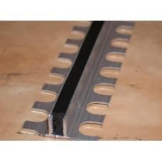 Противоскользящий и межшовный алюминиевый профиль Евроступень-Т