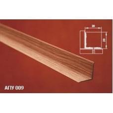 Уголок алюминиевый - накладка на ступеньку АПУ 009 - неокрашенный